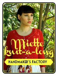Handmaker's Factory - Miette knit-a-long